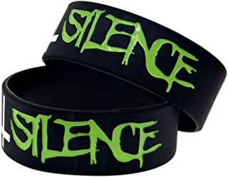 Suicide Silence dead core silicone bracelet hand ring bracelet style band star