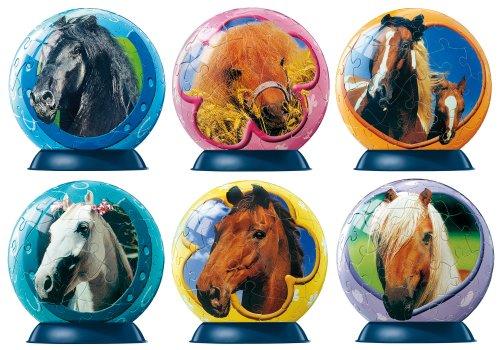 Ravensburger 09499 puzzleball® Mini Pferde