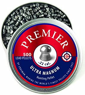 Crosman LDP22 .22-Caliber Premier Domed Pellets (500-Count)