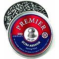 Crosman Premier Domed 500 pellets in a tin. LDP22