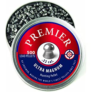 .22 Caliber Domed Premier Pellets 500ct:Hitspoker
