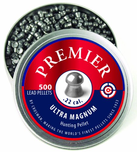 Crosman Premier Domed Pellet .22 Caliber 14.3gr 500ct, LDP22
