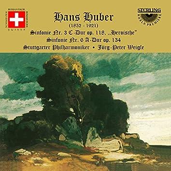 """Huber: Sinfonie Nr. 3 C-Dur, Op. 118 """"Heroische"""""""
