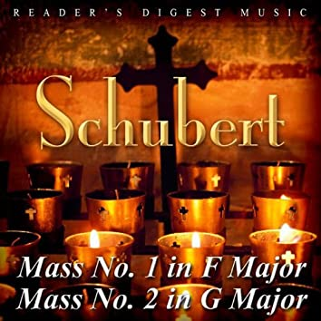 Reader's Digest Music: Schubert: Mass No. 1 In F Major & Mass No. 2 In G Major