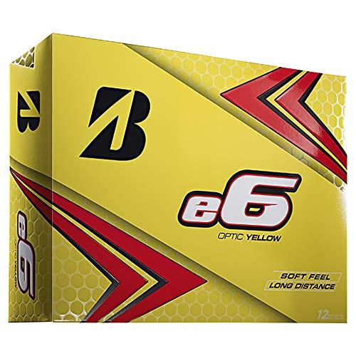 Briddgestone 2019 e6 Yellow Golf Balls (One Dozen)