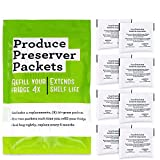 Funmit W10346771A Freshflow Produce Preserver Packets (8 Pouches-4 Pack) Replacement for Whirlpool Refrigerator Replace 2117689 AH3503014 W10335145A