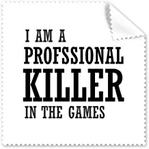 DIYthinker Profesional Killer Games Glasses Cloth Cleaning Cloth Phone Screen Cleaner 5Pcs Gift