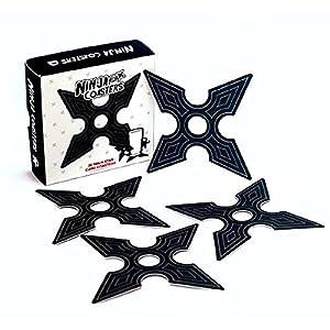 Spinning Hat - Colgadores, diseño de Estrella Ninja: Amazon ...