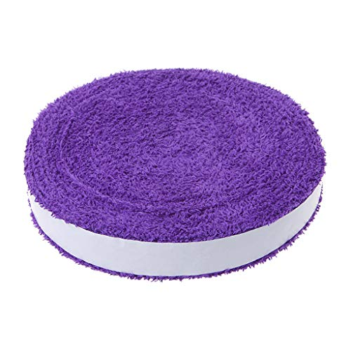 Sidougeri 1 Spule 10 m Handtuch-Klebeband für Badminton, Tennis, rutschfestes Schweißband