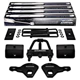 Supreme Suspensions - Full Lift Kit for 1987-2004 Dodge Dakota Adjustable 1' to 3' Front Lift Torsion Keys + 3' Rear Lift Blocks + Square U-Bolts + Torsion Tool + Axle Shims + Pro Comp Shocks 4WD