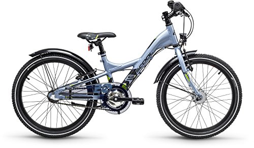 S'Cool XXlite Alloy 20R 3-S Kinder Mountain Bike (20 Zoll, Darkgrey/Black matt)