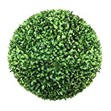 HAOJON Bola de boj Artificial, Bola de Planta de poda Artificial, Ajuste de césped de jardín, decoración, Bola de césped de plástico Colgante, 12 CM