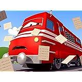母の日:フラットベッドトラックのフレイビー / 春節レース! / ゴミ収集車のギャリーが道路で紙収集!