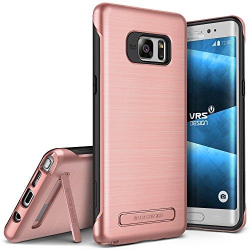 VRS DESIGN Galaxy Note 7Custodia, [Duo Guard] [Rose Gold]–[Drop Protection] [Slim Fit] [cavalletto] per Samsung Note 7