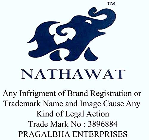 NATHAWAT Cotton Cleaning Cloth 200 gsm (Set Of 12, Blue)