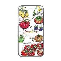 Y!mobile Android One S2 用 ハードケース すまほケース [オーガニック・トマト Tomato] イラスト ベジタブル ワイモバイル アンドロイド SIMフリー スマホカバー 携帯ケース けーたいカバー FFANY garden_00x_h149@01