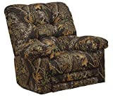 Catnapper Magnum Camo Chaise Rocker Recliner w/Heat & Massage in Infinity