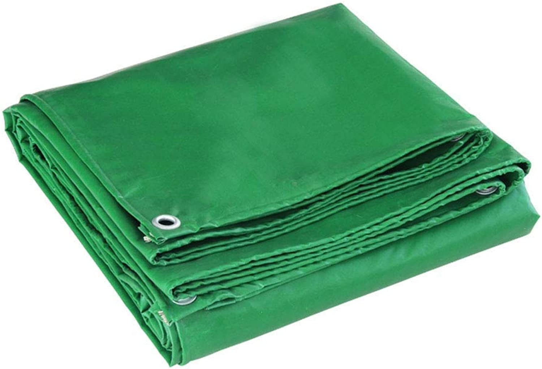 Planen Mehrzweck Wasserdicht Polyethylen Camping Draussen Reise Sun Shelter TIDLT (Farbe   Grün, gre   4x6m)