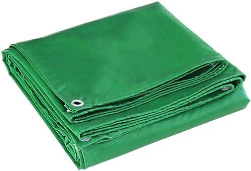 Baches Polyvalent Imperméable Polyéthylène Camping De Plein Air Voyage Abri Soleil TIDLT (Couleur   Vert, Taille   3x3m)