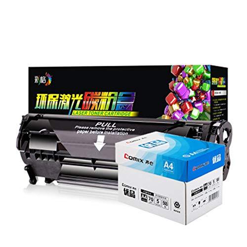 HDJX voor 2612a poeder cartridge hp1020 M1005 1010 1018 cartridge 12a gemakkelijk toe te voegen poeder, druk ongeveer 2000 pagina's