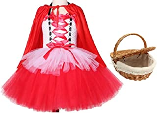 Chunks of Charm Red Riding Hood Costume Inspired Dress from