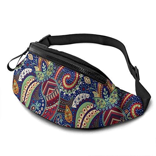 Hdadwy Waist Pack - Ethnic Wind Spiral Pattern Fanny Pack Fashion Waist Bag