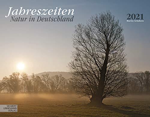 Jahreszeiten Kalender 2021 | Wandkalender Jahreszeiten/Deutschland im Großformat (58 x 45,5 cm) | Ein Kalender für Naturliebhaber