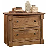Pemberly Row 2 Drawer Wood Lateral Letter/Legal File Cabinet in Vintage Oak