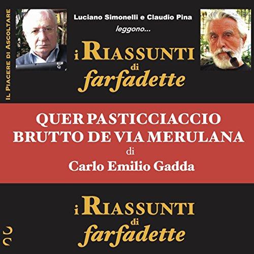 Quer pasticciaccio brutto de via Merulana di Carlo Emilio Gadda copertina