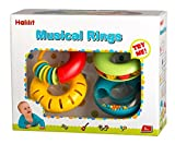 Musical Rings Baby Toy - Pack Of 4 Rings That Create Unique Sounds - Bright Colored Textured And Fun Noises Create Sensory Engagement For Children - Educational And Fun Play For Babies