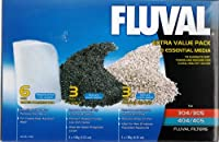 Pack contains Fluval Amonia Remover 3 x 180g Fluval Carbon 3 x 100g 6 x Fluval fine polishing pads