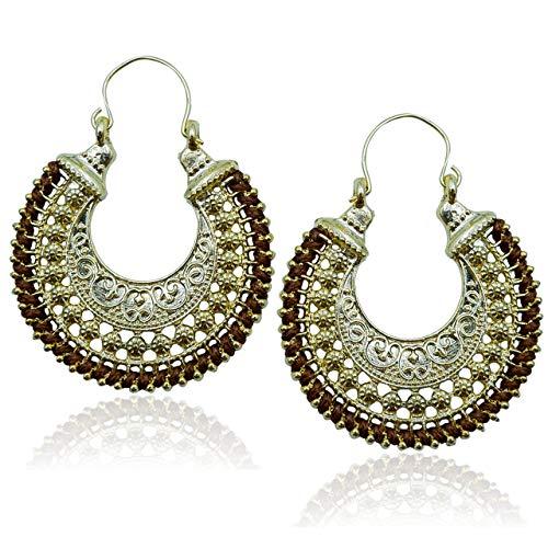 Boho Earrings, Trendy Earrings, Bohemian Earrings, Statement Earrings, Gypsy, Unique Earrings For Women, Hoop Earrings, Hypoallergenic Earrings, Boho Jewelry For Women By Adeley BROWN