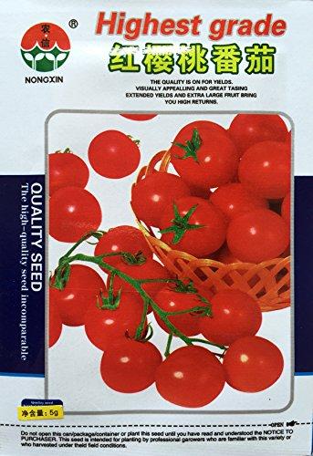 (Mix minimum 5) 1 paquet 2000pcs graines de tomates rouges, tomate cerise rouge petite variété de tomate Graines Hot Livraison gratuite de vente