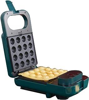 5 I 1 Sandwich Brödrost Panini Egg Waffle Maker Med Utbytbara Non-stick Munkplattor (Size : Style 2)