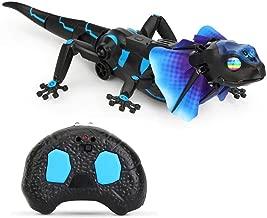 Ceepko Realistic Remote Control Lizard Toy, Prank Lizard RC Animal Toy for Halloween Prank Gifts