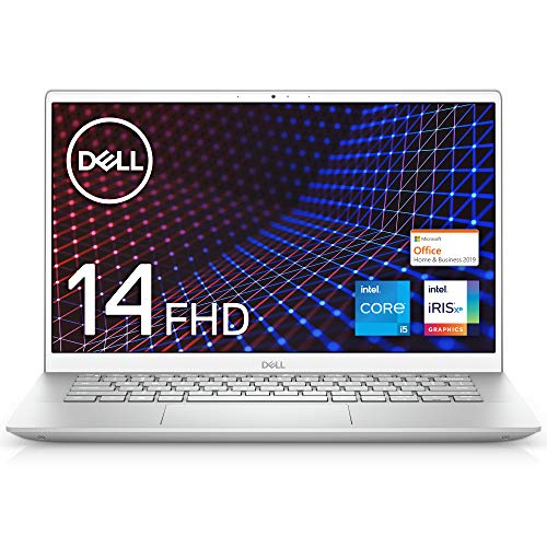 【MS Office Home&Business 2019搭載】Dell ノートパソコン Inspiron 14 5402 シルバー Win10/14FHD/Core i...