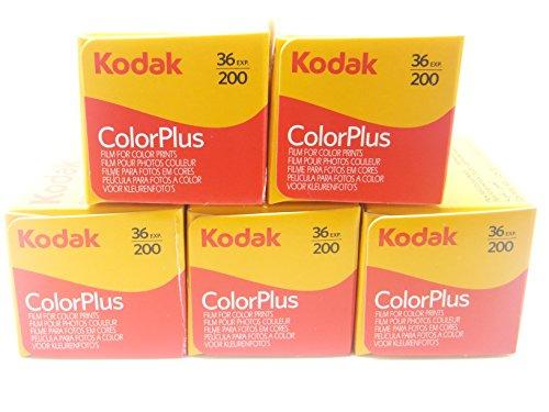 5 Rollen Kodak Colorplus 200 ASA 36 Belichtung