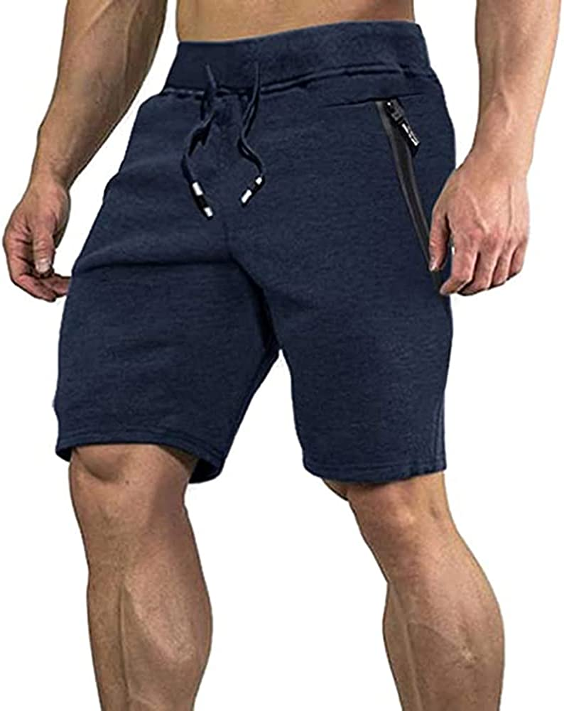 Swibitter Men's Casual Sale price Cotton Joggers Active Shor Selling and selling Gym Breathable