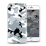 ITGM Casetic | iPhone 7, 7+ Schutzhülle TPU Hülle Cover Handyhülle Bumper leichte Handytasche Hülle mit Foto Silikon Case Hüllen Sorgen für kratzfesten Schutz … (iPhone 7, Camouflage)