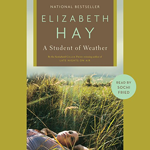 A Student of Weather audiobook cover art