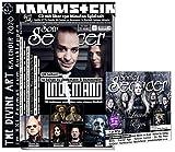 Sonic Seducer 12-2019/ 01-2020 + CD mit 3,5 St. Spielzeit u.a. Leaves Eyes Kalender: Lindemann + Rammstein, Mono Inc., ASP, Depeche Mode, Marilyn Manson, Lacuna Coil, Apocalyptica
