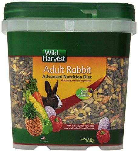 Wild Harvest Wh-83544 Wild Harvest Advanced Nutrition Diet For Rabbits, 4.5-Pound