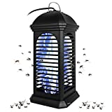 FBMPTA Bug Zapper Mosquito Killer, Flying Insect Killer Indoor, Fly Traps, Mosquito Lamp, Insect Zappers, Electric Mosquito Attractant Trap Plug in for Home, Patio, Garden (Square)