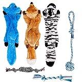 Toozey Juguetes para Perros Juguete Perro - 6 Piezas de Duraderos...
