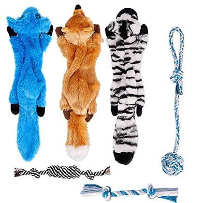 Tolles Spielzeug Hund für Hunde - Toozey Spielzeug Hund Welpenspielzeug umfasst verschiedene Arten von Spielzeug, Quietschspielzeug und Kauspielzeug, die sich positiv auf die körperliche und geistige Gesundheit Ihres Hundes auswirken. Sicher und unze...