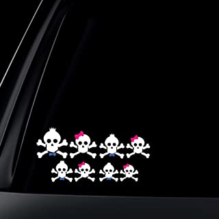bow tie car decal