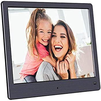 Yuybei Digital Picture Frames 17 Inch Large Digital Picture Frame 1440/×900 Pixels High Resolution Smart Electronic Frame Auto On//Off Timer Remote Control Included