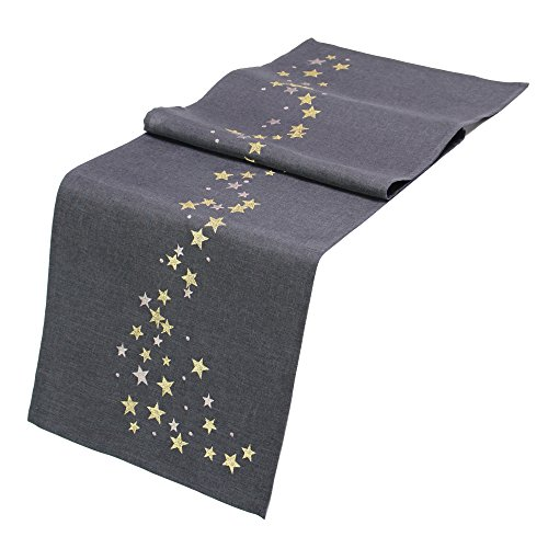 FRANK FLECHTWAREN Tischläufer Sternenreigen
