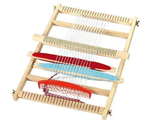 Betzold 50998 - Großer Webrahmen - 30x40 cm Kinder-Set Grundschule Schulausstattung