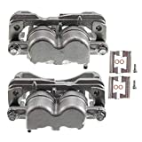 A-Premium Brake Caliper Assembly Replacement for GMC Savana 1500 2500 Sierra 1500 2500 Chevrolet Silverado 1500 2500 3500 Cadillac 2000-2013 Left and Right with 4 Wheel Disc 2-PC